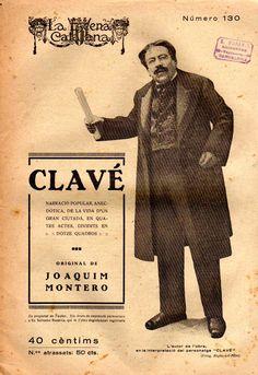 Clavé - Joaquim Montero -LA ESCENA CATALANA nº 130 - 26.05.1923