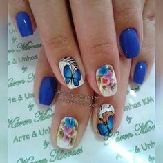 Unha diferente de Arte & unhas KM. Different nail. Uña diferente. Unghie different.