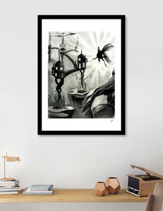 «Underwater World», Exclusive Edition Art Print by Stavroula Christopoulou - From 29€ - Curioos