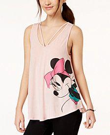 482057f5f052e Hybrid Juniors  Disney Minnie Mouse Graphic Swing Tank Top Dressy Tops