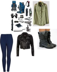 """Zombie apocalypse with Zayn"" by ivalove-1 ❤ liked on Polyvore"