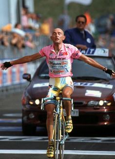 "Today the ""Montagna Pantani"": Plan di Montecampione. Today, as 16 years ago. #giro"