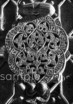At the Gates islamic art christian art  by MariaZambrunoPhoto, €5.00