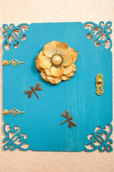 Dragonfly Fairy Door by CrystalandLeaf on Etsy