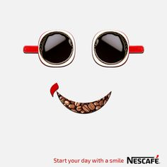 Nescafe Unofficial Ads Coffee World, Coffee Is Life, My Coffee, Coffee Bar Home, Coffee Cafe, Ads Creative, Creative Advertising, Cafe Rico, Cute Good Morning Images