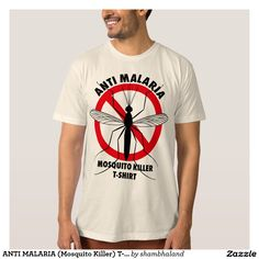 ANTI MALARIA (Mosquito Killer) T-shirt シャツ