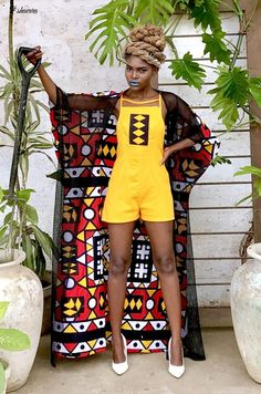 Zambian Designer Brand 'Mangishi Doll' Raises Heads With Fabulous Collection African Fashion Designers, African Print Fashion, Africa Fashion, African Fashion Dresses, Ankara Fashion, African Prints, African Fabric, African Attire, African Wear