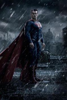 Your First Look at Henry Cavill in 'Batman v Superman: Dawn of Justice'