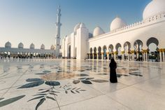 """""""GRAND MOSQUE"""" by Ratheesh R on Exposure Grand Mosque, Cultural Diversity, Islamic World, United Arab Emirates, Taj Mahal, Architecture, Building, Places, Travel"""