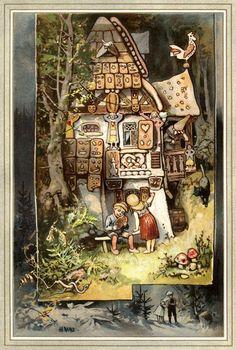 Charles Vess & Greenman Press » 10 artists that I like: #1 Hermann Vogel