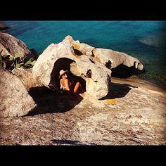 Dentro le rocce di Cala Girgolu (San Teodoro) - taken by @alessandrapolo - via http://instagramm.in