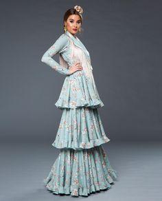 2020_MUJER_TRAJE FLAMENCA_AGUITA_Verde_6-Editar Color Negra, Dresses, Virginia, Art, Fashion, Victorian Dresses, Vestidos, Art Background, Moda