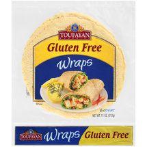 Walmart: Toufayan Gluten Free Wraps, 6 count, 11 oz