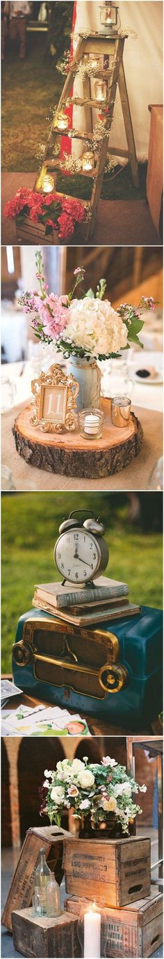 Vintage Weddings  21 Shabby Chic Vintage    Wedding Ideas You Cannot Resist!      See more: