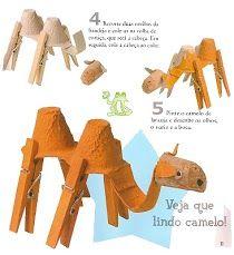 kameel knutselen woestijn