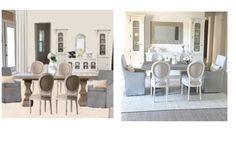 e-design, dining room, Restoration Hardware, Serena and lily grey and beige dining room Beige Dining Room, E Design, Interior Design, Peaceful Home, Grey And Beige, Restoration Hardware, Gallery Wall, Lily, 3d