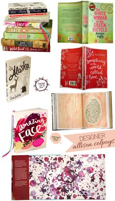 Book Designer Allison Colpoys... BEAUTIFUL!!    so jealous {in a good way} -- what a dream job!