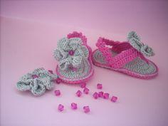 sweet baby flip flops
