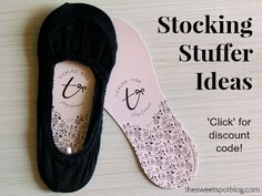 Tickled Pink Footsies: Stocking Stuffer Gift Ideas by The Sweet Spot Blog http://thesweetspotblog.com/tickled-pink-footsies-stocking-stuffer-ideas/ #ChristmasGifts #stockingstuffers