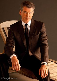 GREG GORMAN PHOTOGRAPHY. Pierce Brosnan
