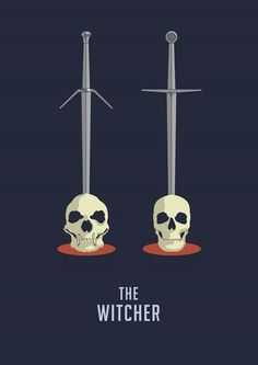 The two different swords showcased through stabbing the different skulls
