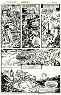 Original Art - Star Wars #011 Pg 30 (1978) by Carmine Infantino And Terry Austin