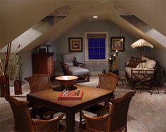 Bonus Room over the garage in the Magnolia Model by Daniel Wayne Homes, custom home builder in Fort Myers, Florida