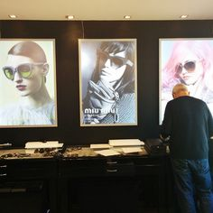 """Armani? Miu Miu? Chanel? What's your weakness? #tlv #sunglasses #igers"""