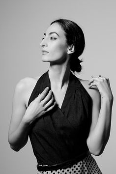 Laëtitia Eïdo,  french actress of mixed background plays in Dancing with Arabs/A Borrowed Identity