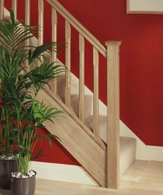 StairBox - Bespoke Staircase Manufacturer View our popular staircase gallery with traditional oak stairs and steps Wooden Staircase Railing, Oak Stairs, Staircase Railings, Wooden Stairs, House Stairs, Staircase Design, Staircase Ideas, Banisters, Stairways
