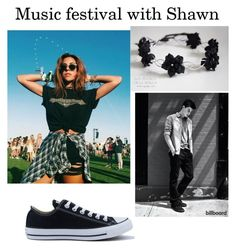 """""""Music Festival with Shawn Mendes"""" by neda-di on Polyvore featuring Converse"""