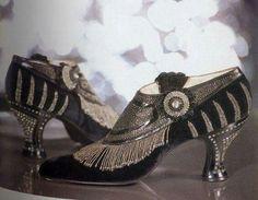 1920's flapper shoes                                                                                                                                                     More