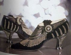1920's flapper shoes