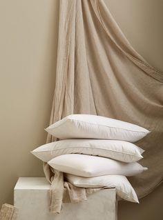 Zara Home Summer 2019 — Glen Proebstel Linen Bedding, Bed Linens, Zara Home 2019, Photography Studio Spaces, Zara Home Collection, Casamance, Linen Bedroom, Cozy Bed, Pillows