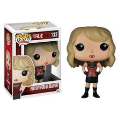 From the popular True Blood TV series! This True Blood Pam Swynford Pop! Vinyl Figure stands 3 3/4-inches tall. This is a must-have for True Blood fans!