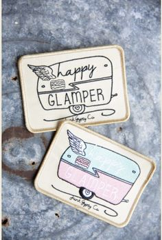 happy glamper patch