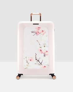Oriental Blossom large suitcase - Baby Pink | Bags | Other Europe Site