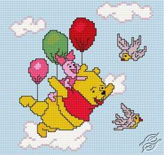Like A Bird - Free Cross Stitch Pattern