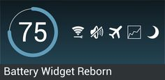 Battery Widget Reborn v1.6.0/PRO - Frenzy ANDROID