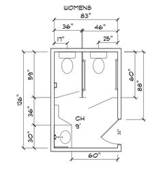 Bathroom Designs And Measurements public toilet layout dimensions - google search | projecto de