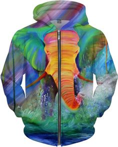Candy Circus Zip up Hoodie
