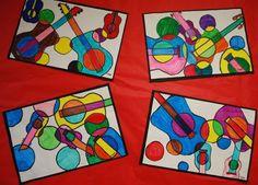 Picasso Guitars- 4th grade, via Flickr.