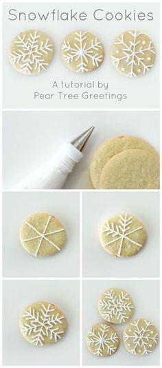 How To Make Snowflake Christmas Cookies - 17 Skillfully Decorated Christmas Cookies Which Will Spread Cheer Among Your Family christmas desserts creative Snowflake Christmas Cookies, Christmas Sweets, Christmas Cooking, Christmas Goodies, Holiday Cookies, Holiday Baking, Christmas Desserts, Holiday Treats, Christmas Holidays