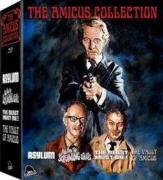 THE AMICUS COLLECTION: ASYLUM / AND NOW THE SCREAMING STARTS / THE BEAST MUST DIE! / THE VAULT OF AMICUS BLU-RAY SET (SEVERIN FILMS)