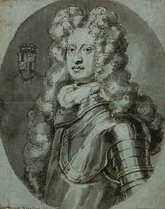 John Erskine, 6th Earl of Mar, 1675 - 1732. Leader of the Jacobite Rising of 1715 By Kneller.  After the accession of King George I in 1714 Mar fell from favour and became a fervent Jacobite. He headed the Jacobite rebellion of 1715, but as a result of his poor military leadership the Battle of Sherifmuir was inconclusive. Having lost his title and estates, he died in exile in France.