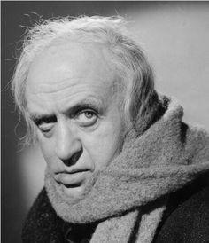 "Alister Sim - aka Ebenezer Scrooge in ""A Christmas Carol"""
