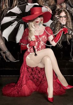 Maria Brink Heavy Metal Girl, Heavy Metal Bands, Nylons, Maria Brink, Women Of Rock, Hollywood Undead, Nice Legs, Geek Girls, Female Singers