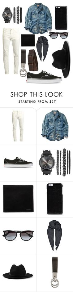 """Untitled #352"" by janaboughanem ❤ liked on Polyvore featuring Yves Saint Laurent, Ralph Lauren, Vans, Bally, Maison Margiela, Topman, Givenchy, Tod's, HUGO and men's fashion"