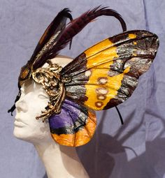Diva Moth Mask. $145.00, via Etsy.