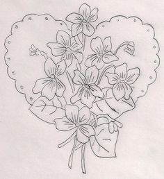Valentine Violets